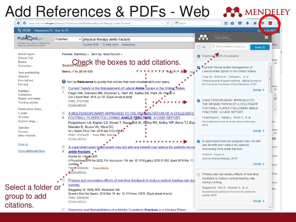 Mendeley Software Features - ppt download