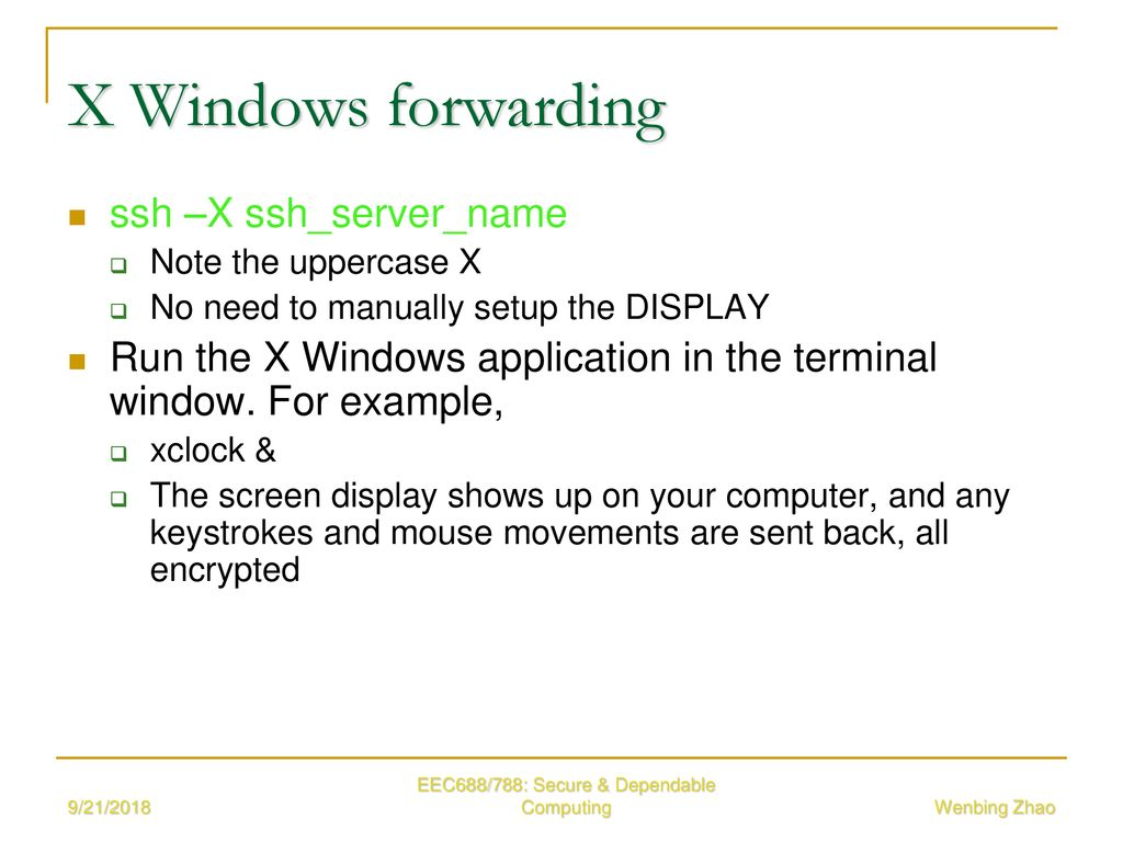 EEC 688/788 Secure and Dependable Computing - ppt download