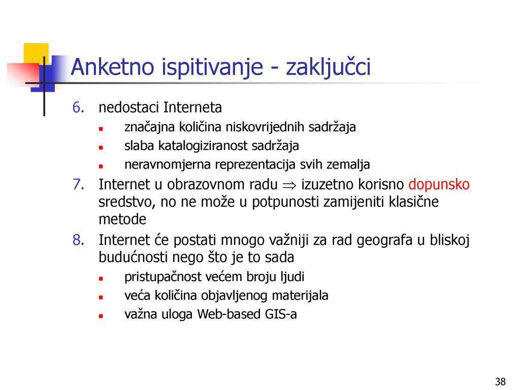 nedostaci interneta