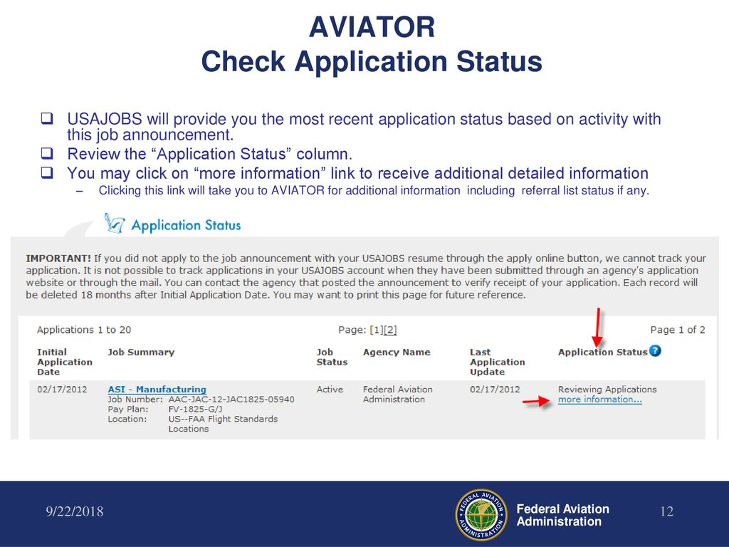 Completing Online Job Applications Using Aviator and - ppt download