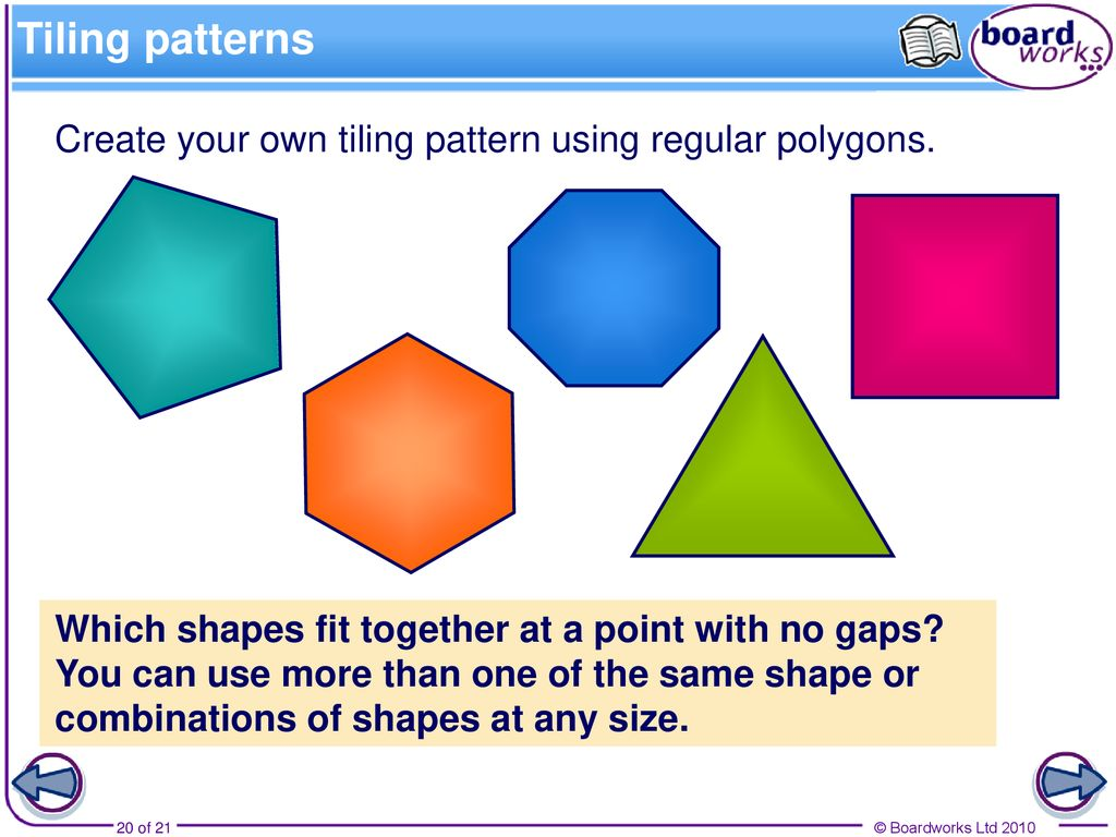 Polygons A polygon is a 2-D shape made when line segments
