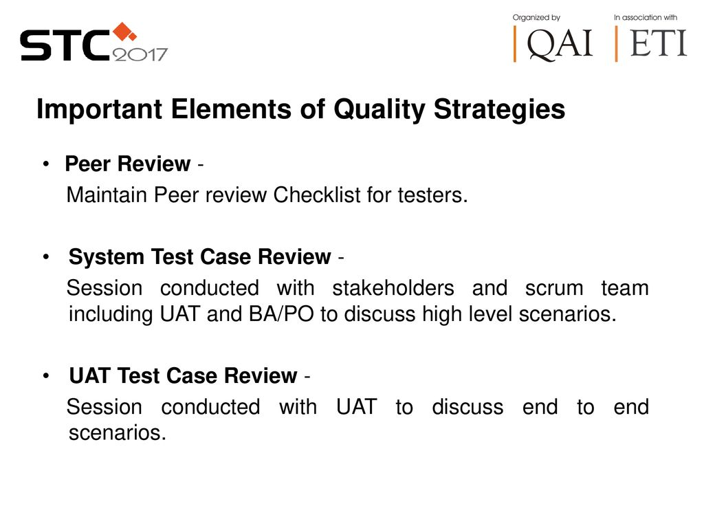 5 Important Elements Of Quality Strategies Peer Review