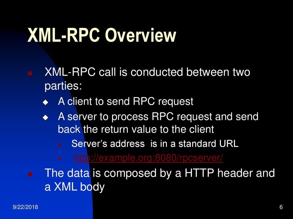 Xml Rpc Url