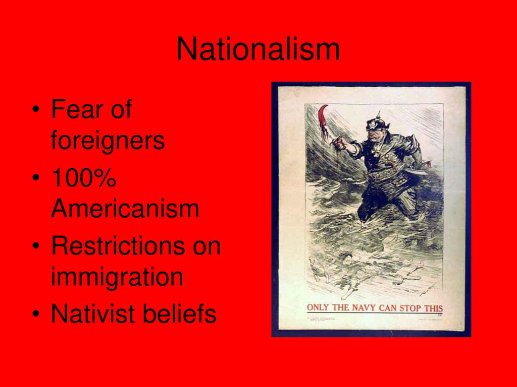 100 Americanism enforcing loyalty in world war i - ppt download