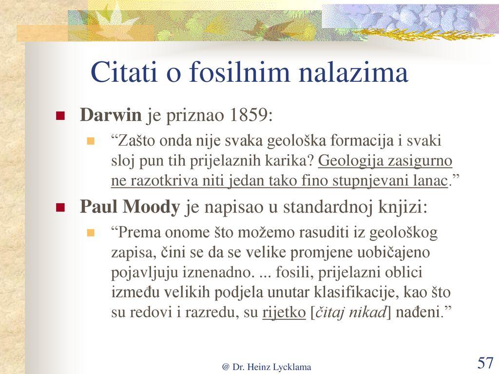 Definicija fosila datiranja