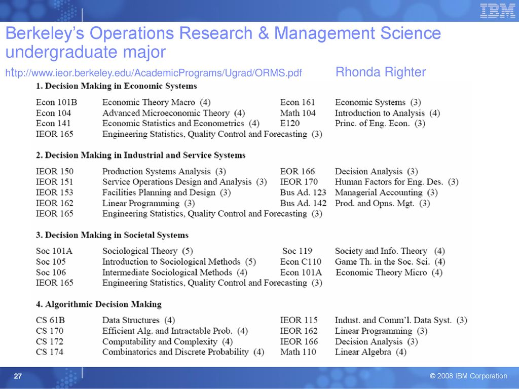 Service Science, Management and Engineering (SSME) - ppt