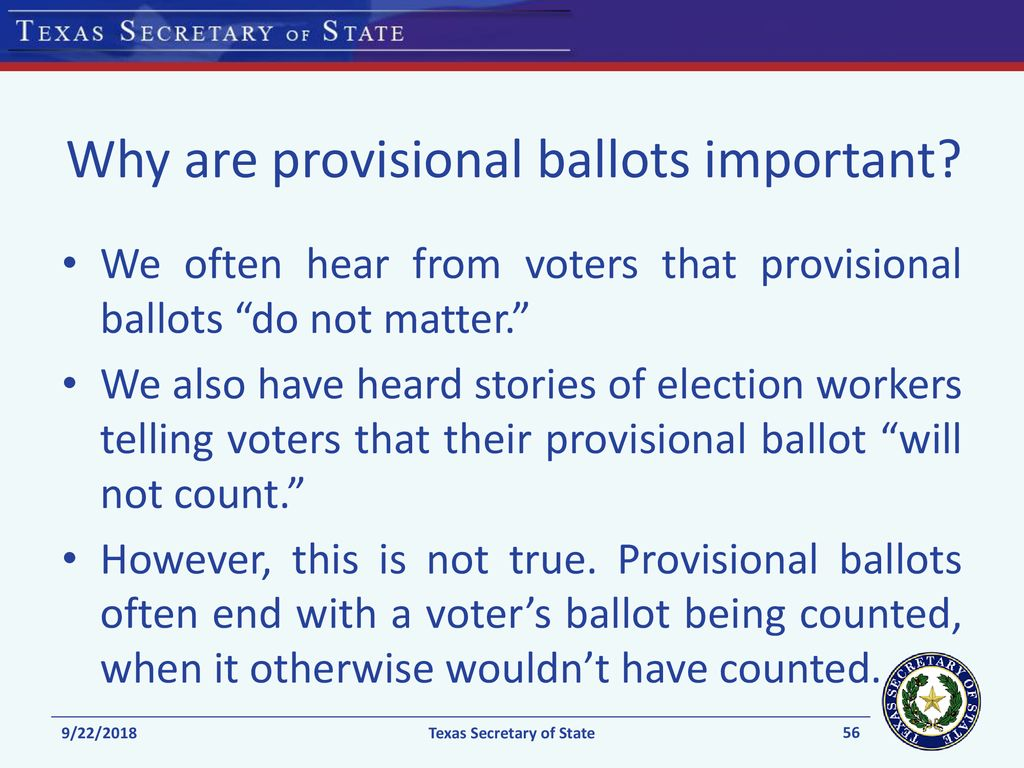 Ppt - Election And Voting Day Download Provisional Procedures