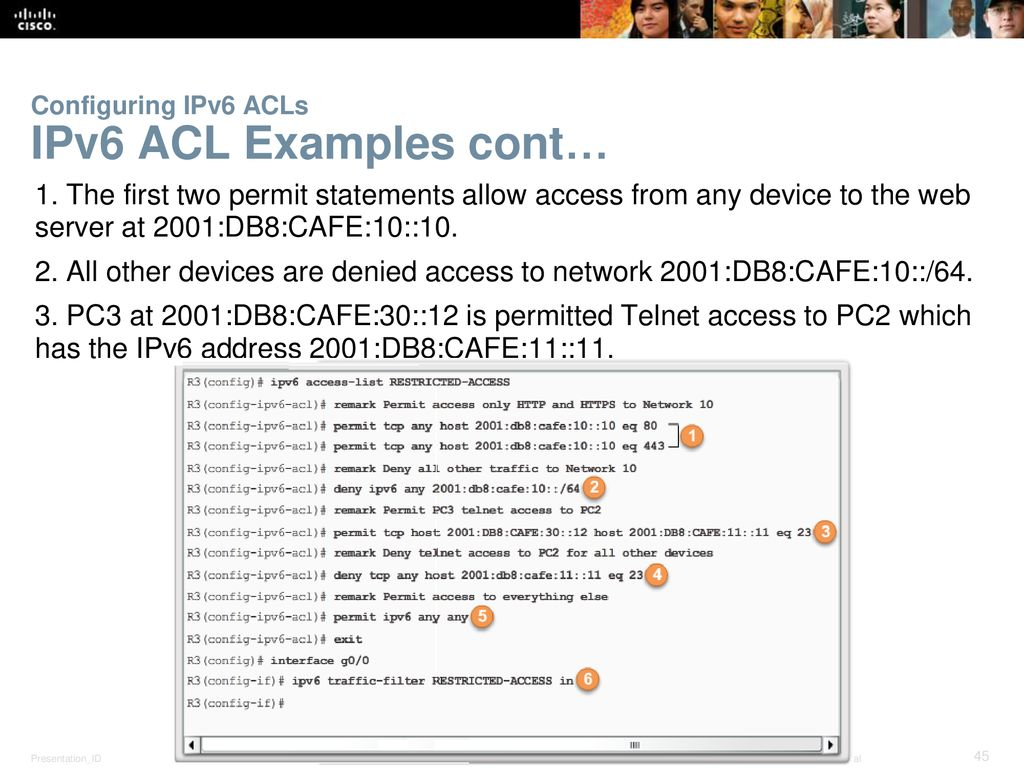 Chapter 4: Access Control Lists (ACLs) - ppt download
