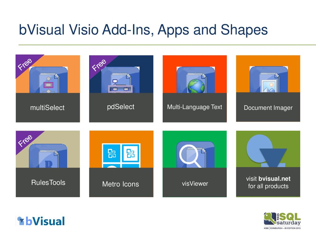 Visualising and Generating SQL data with Microsoft Visio ppt