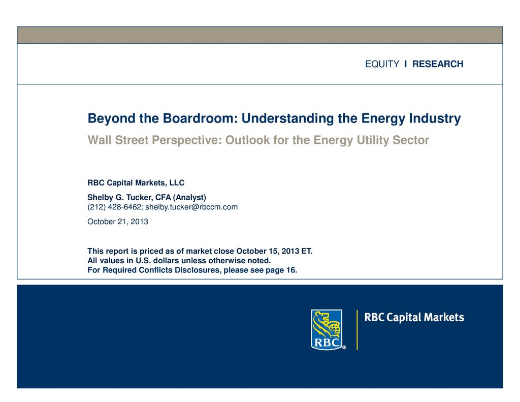 Beyond the Boardroom: Understanding the Energy Industry - ppt download