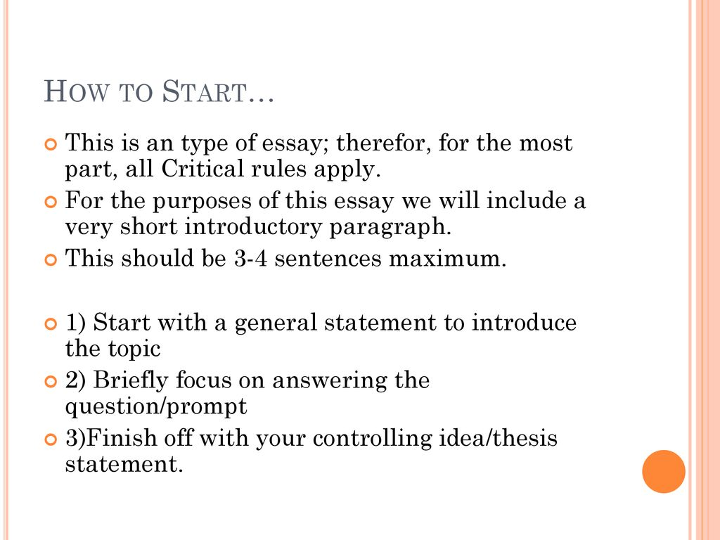 5a941315c6 This is an type of essay; therefor, for the most