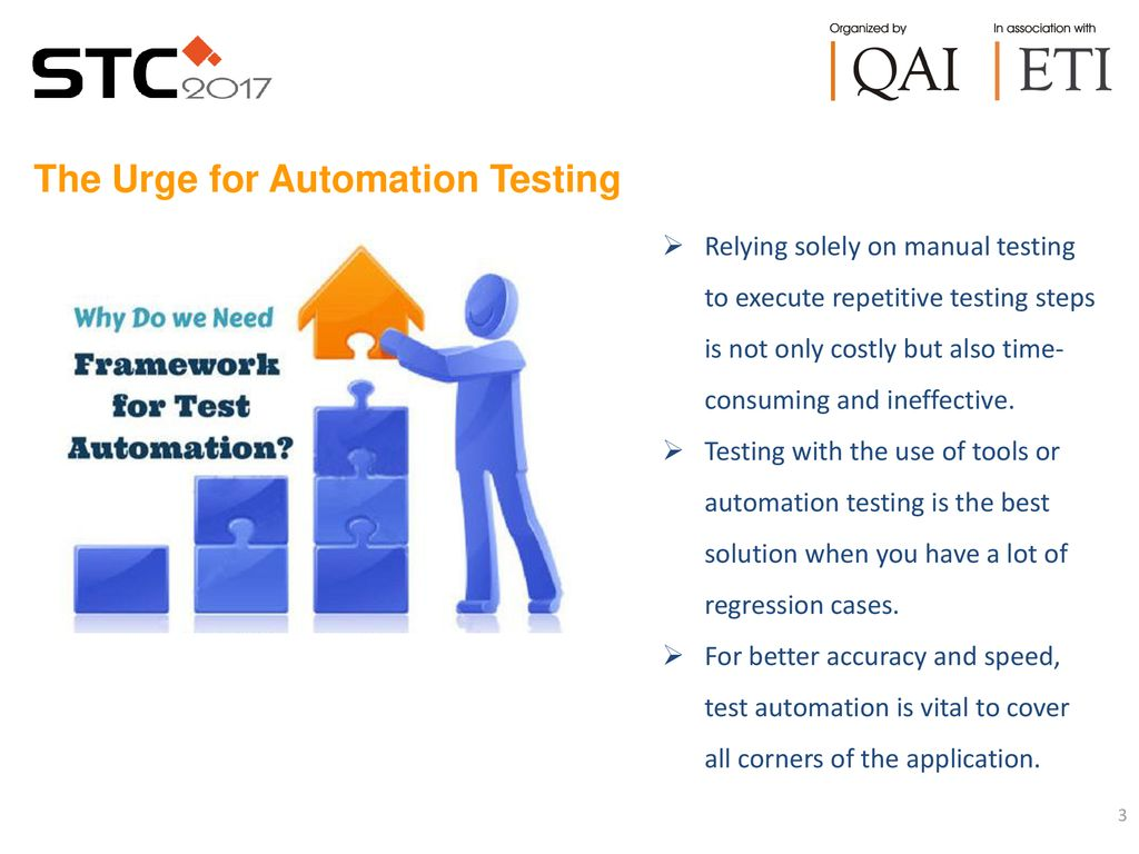 The Urge for Automation Testing