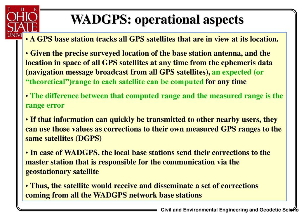 Part III POINT POSITIONING DIFFERENTIAL GPS - ppt download