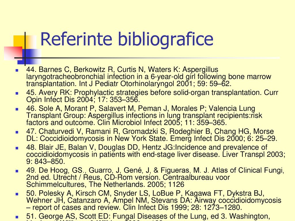 Referinte bibliografice