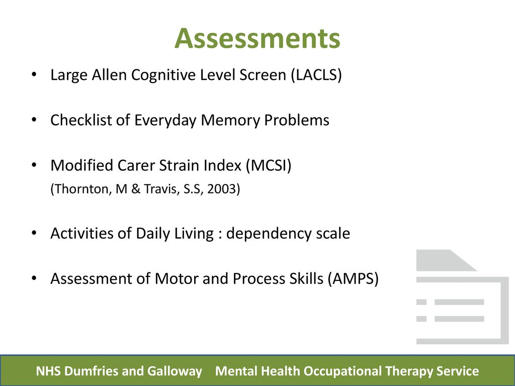 Home Based Memory Rehabilitation Programme Ppt Download