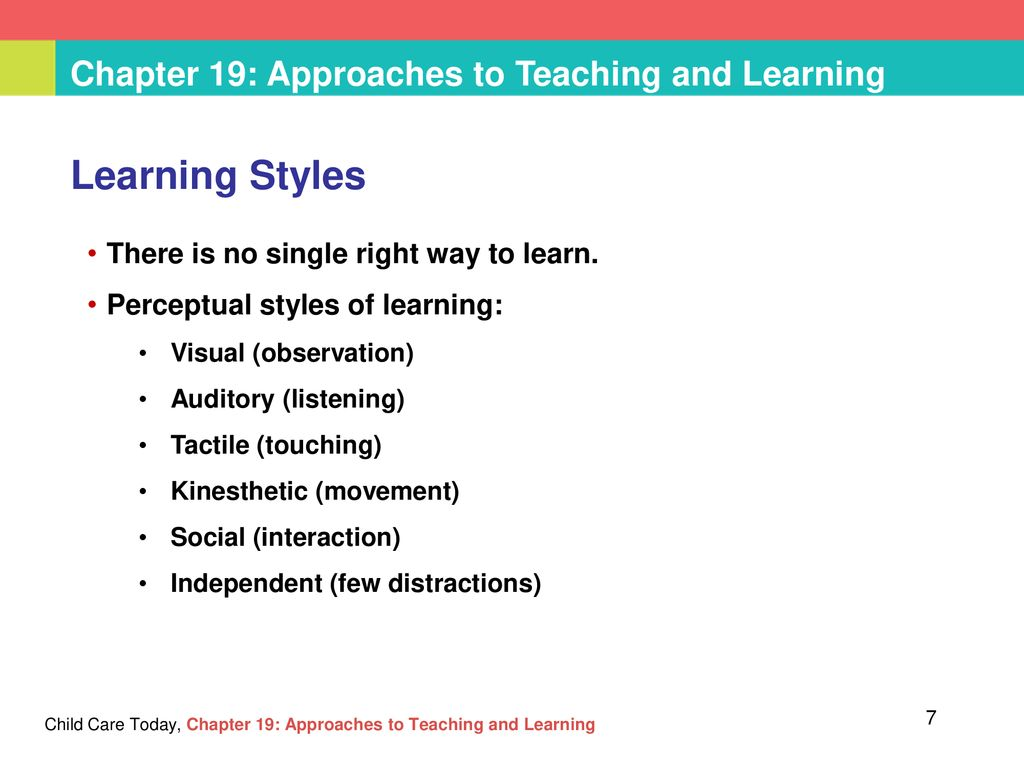 teaching strategies for different learning styles