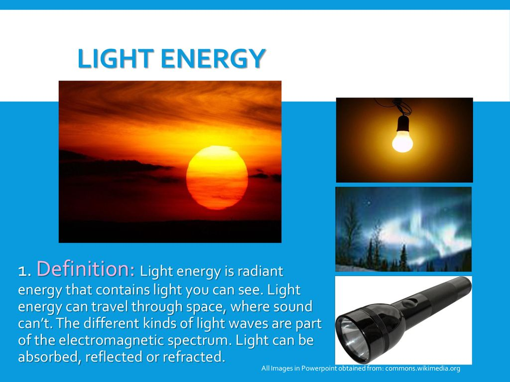 forms of energy explain - ppt download
