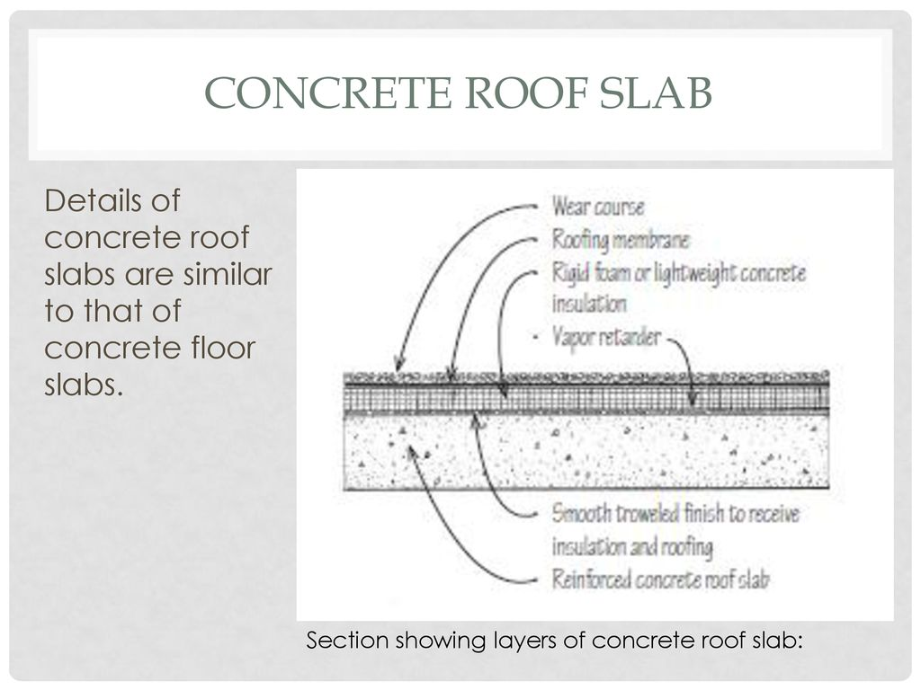 Arch205 Material And Building Construction 1 Floor Roof Systems