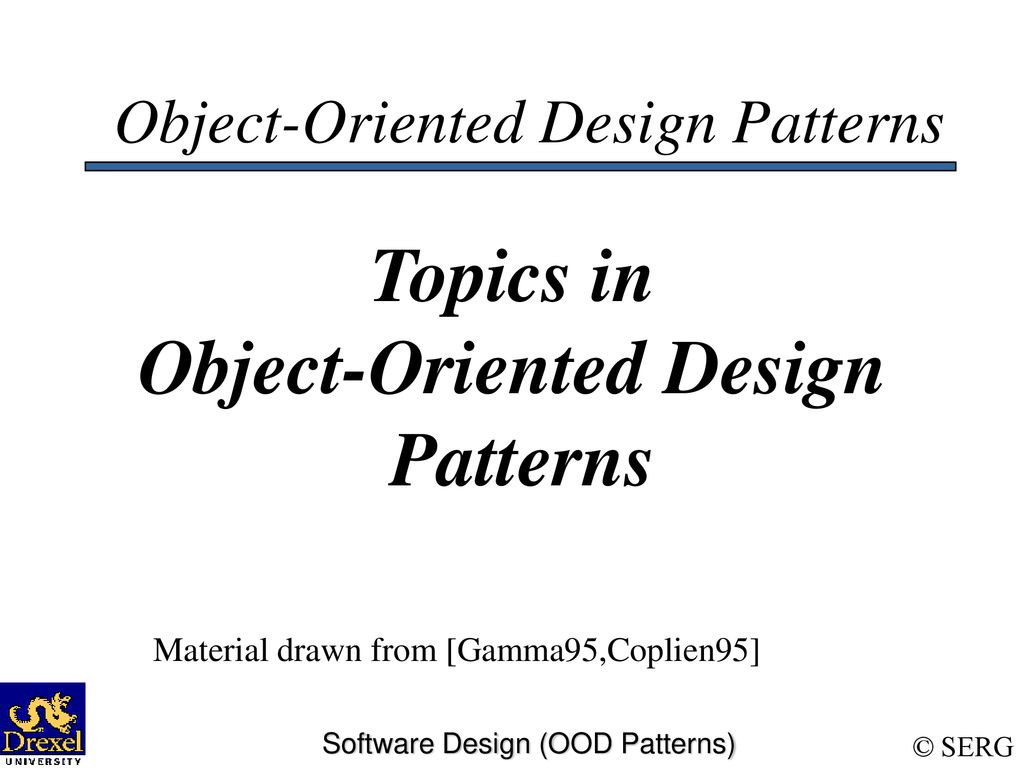Object Oriented Design Patterns Cool Inspiration Ideas