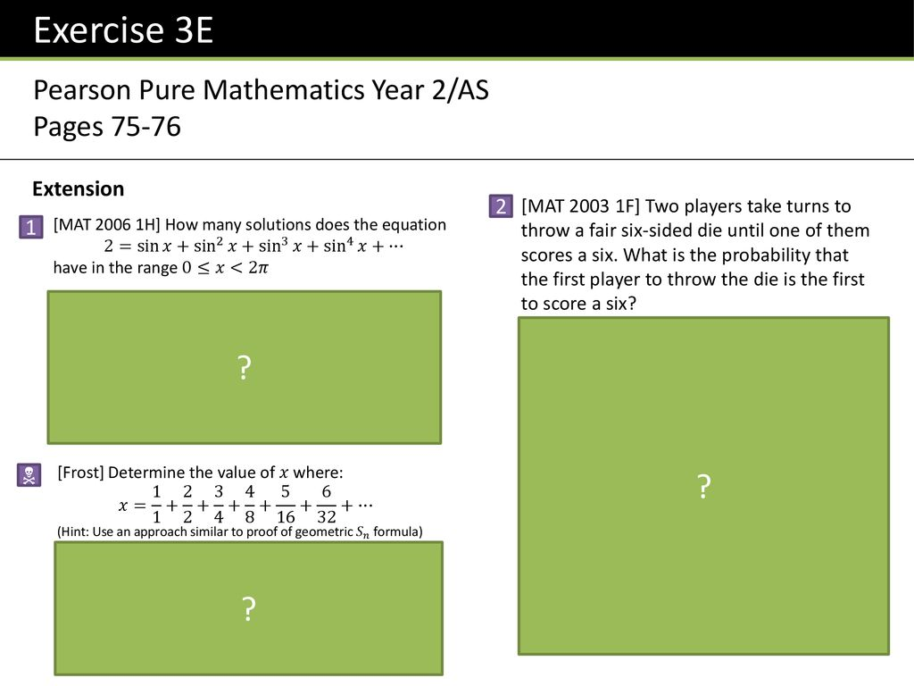 P2 Chapter 3 :: Sequences & Series - ppt download
