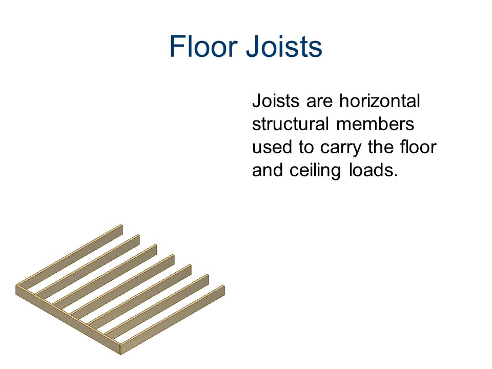 Common Components Of A Traditional Wood Framed Building Ppt Download