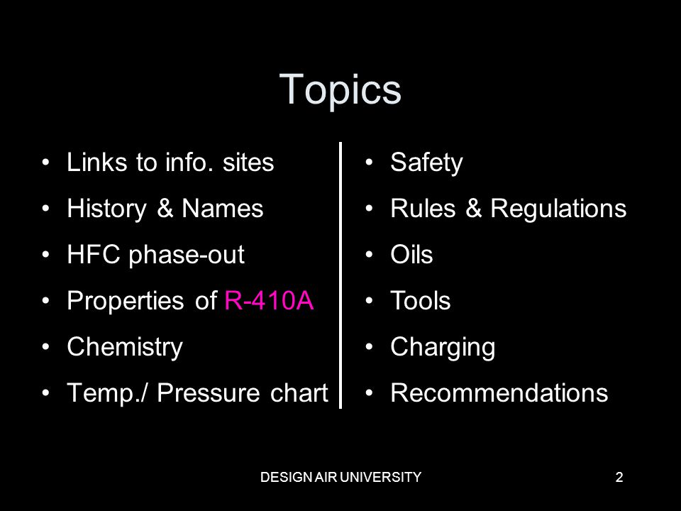 R 410a Refrigerant Certification Course Ppt Video Online Download