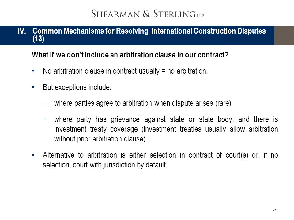 construction disputes through arbitration in tanzania Resolving construction disputes through arbitration - an overview of tanzanian legal framework statutues_tanzania-1 application for revision from the proceedings.