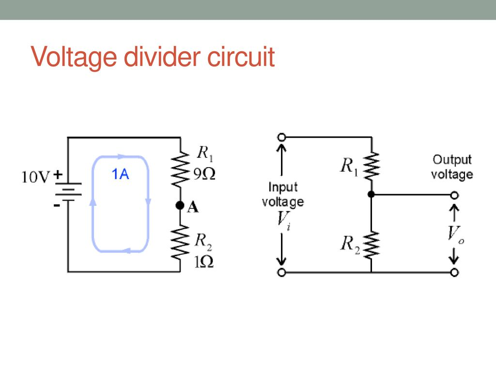 Series And Parallel Circuits Ppt Download All The Resistors In A Circuit We Can Use Ohms Law To Voltage Divider