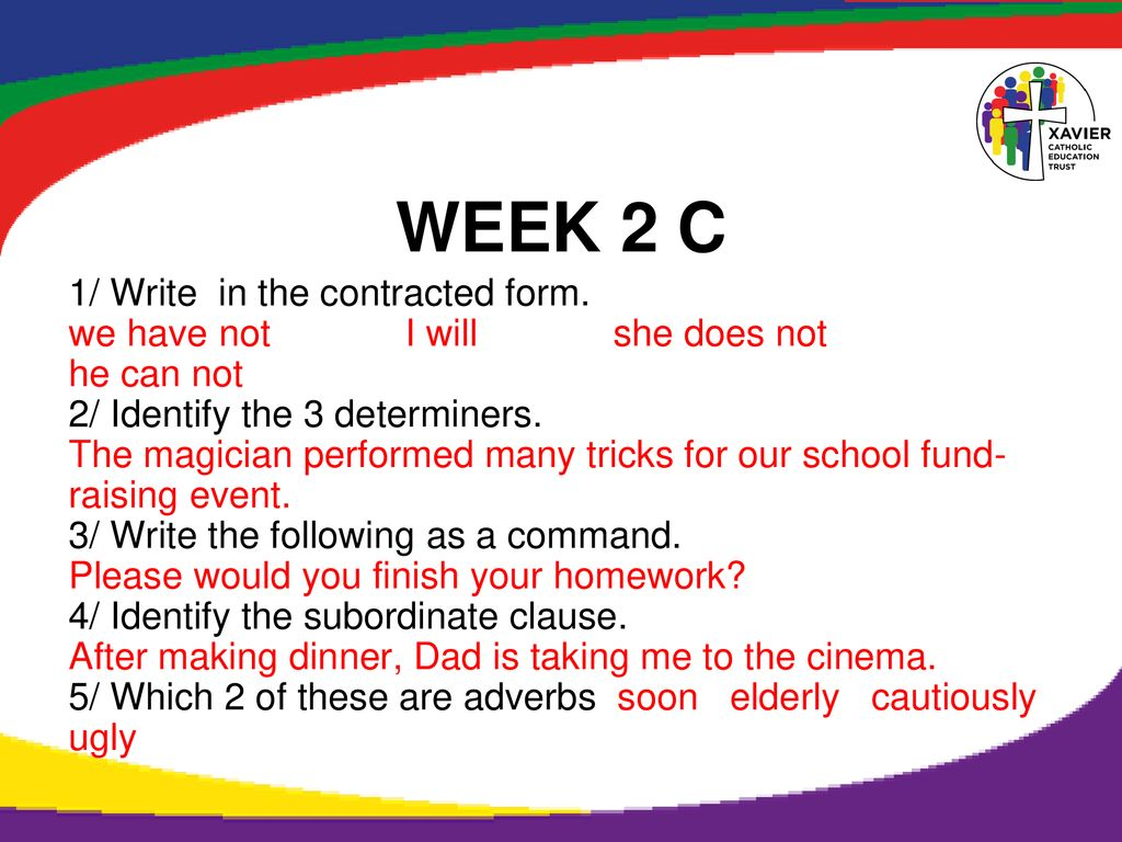Year 6 SPAG Spring term Fast Five - ppt download
