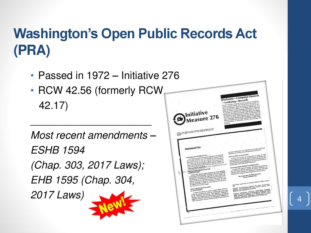 Public Records Act Training - ppt download