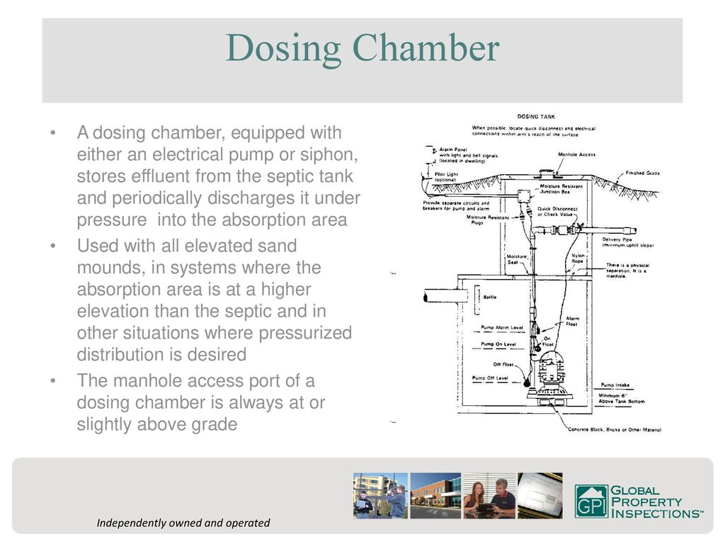 Private Septic Systems Ppt Download Tank Wiring Diagram For Alarm 7 Dosing