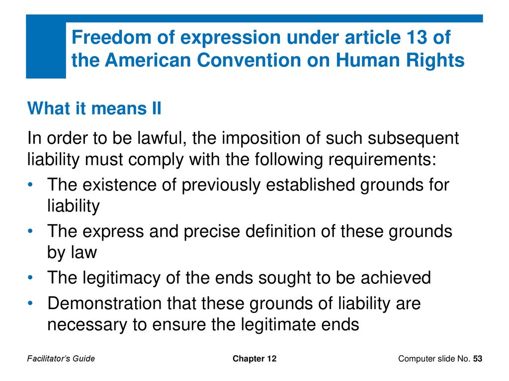 chapter 12. some other key rights:. freedom of thought, conscience