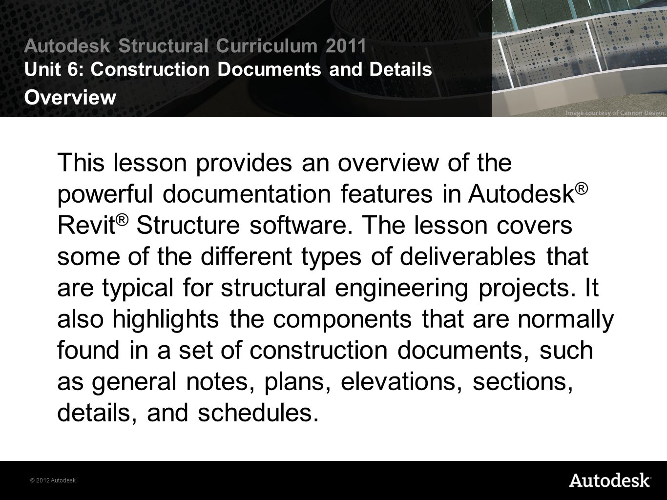 Construction Documents and Details - ppt video online download