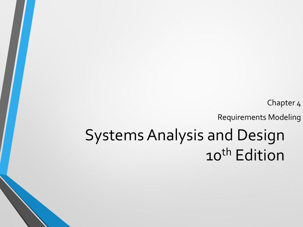 Systems Analysis And Design 10th Edition Ppt Download