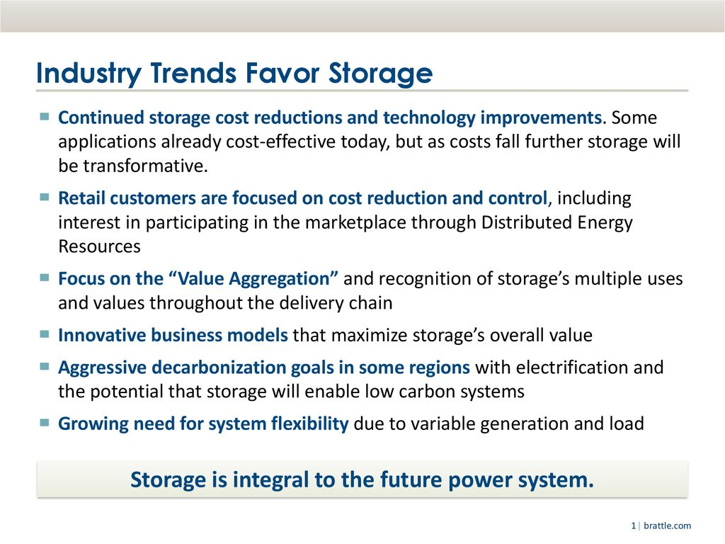 Energy Storage Value for New York - ppt download