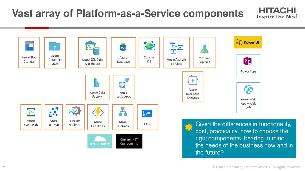 How to Architect Azure for Insights & Analytics - ppt download