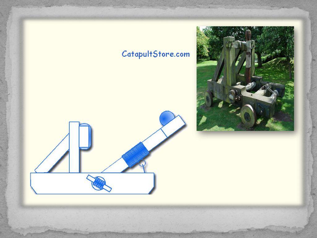 Katapultos Ppt Download Onager Diagram How To Build A Model 9 Mangonel Torsion Powered