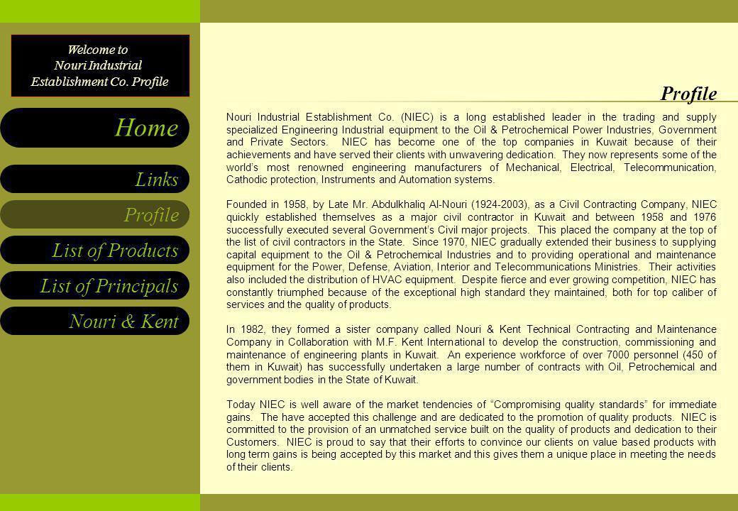 NOURI INDUSTRIAL ESTABLISHMENT CO  Home Page - ppt download