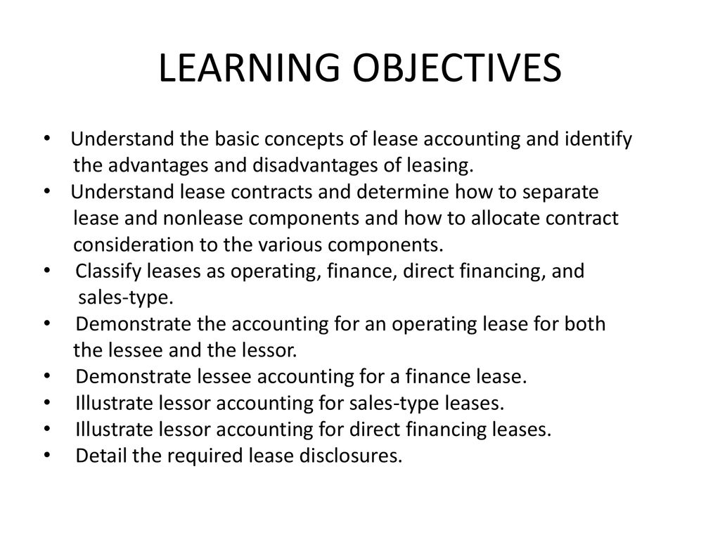 Chapter 18 Accounting For Leases Ppt Download