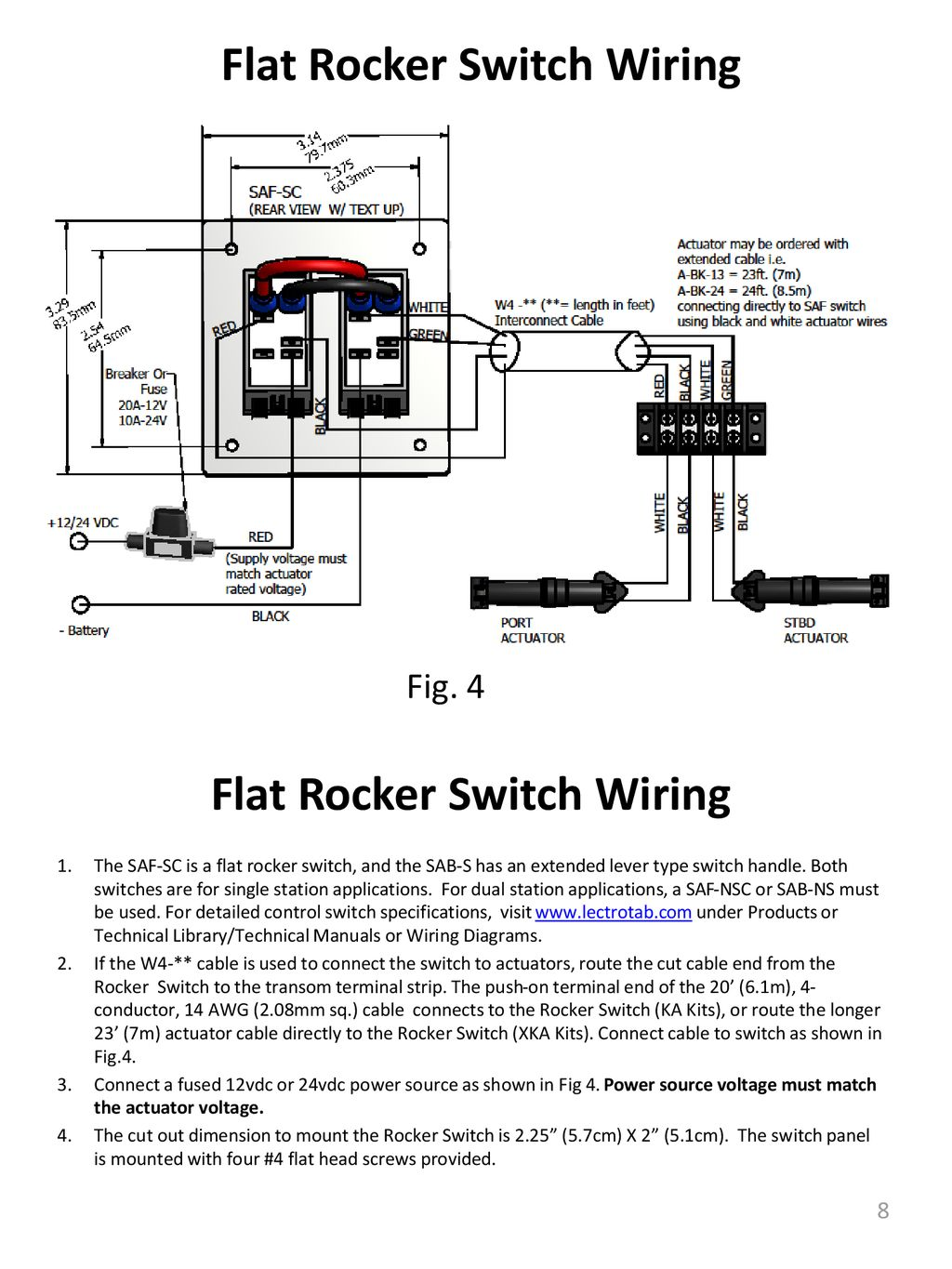 Operation And Installation Manual Ppt Download Rocker Switch Wiring Diagram Va Flat