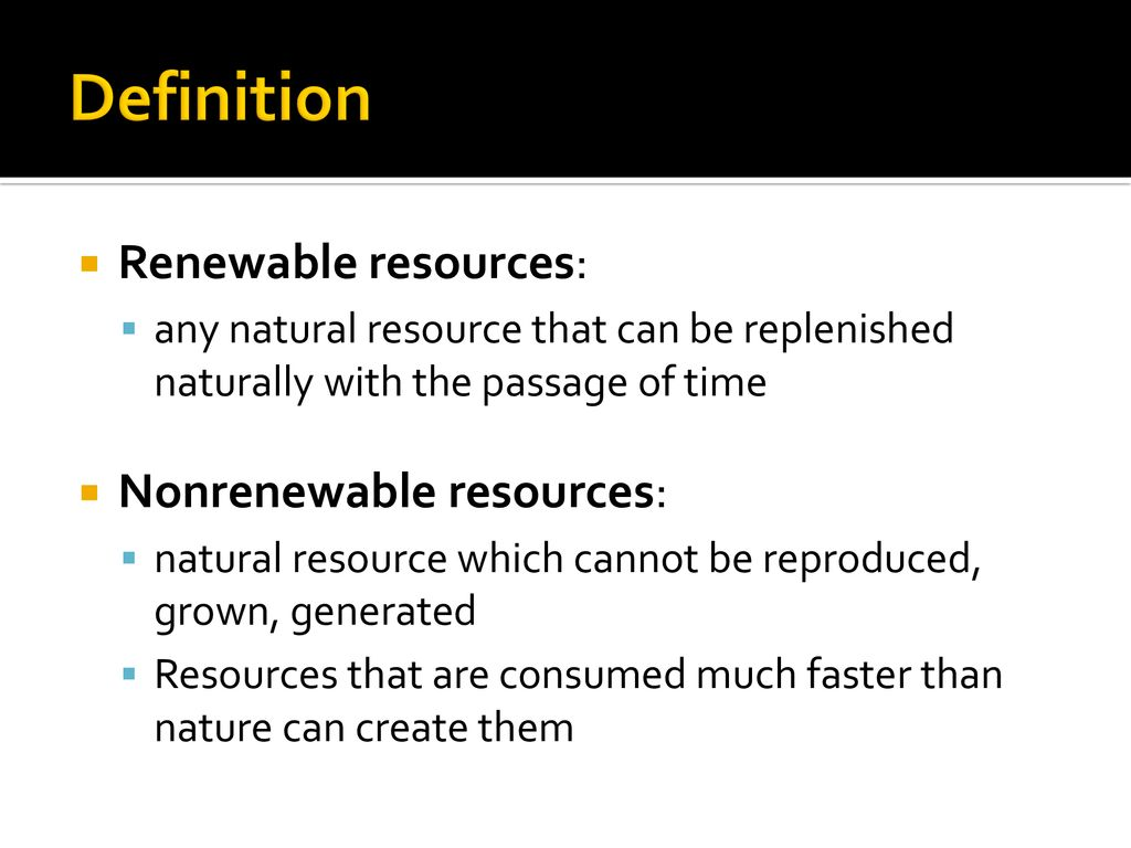 non-sustainable energy: - ppt download