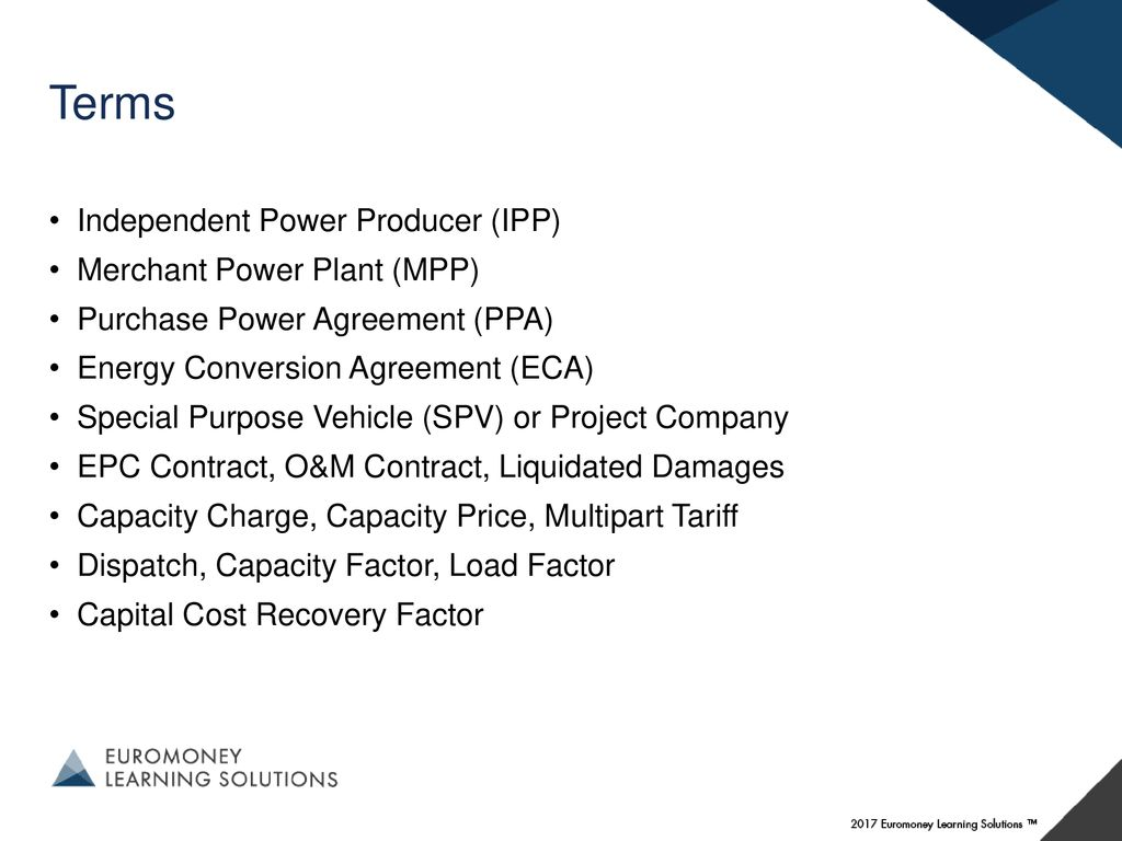 Merchant Power Marginal Cost And Valuation Ppt Download