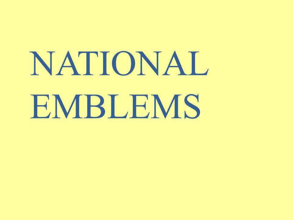 NATIONAL EMBLEMS