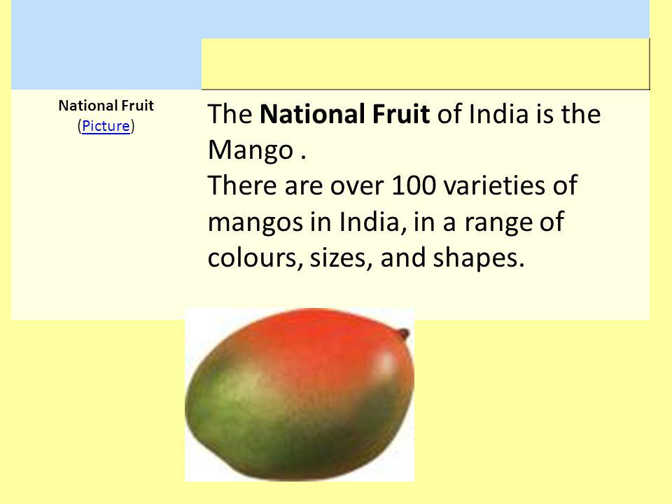 National Fruit (Picture)