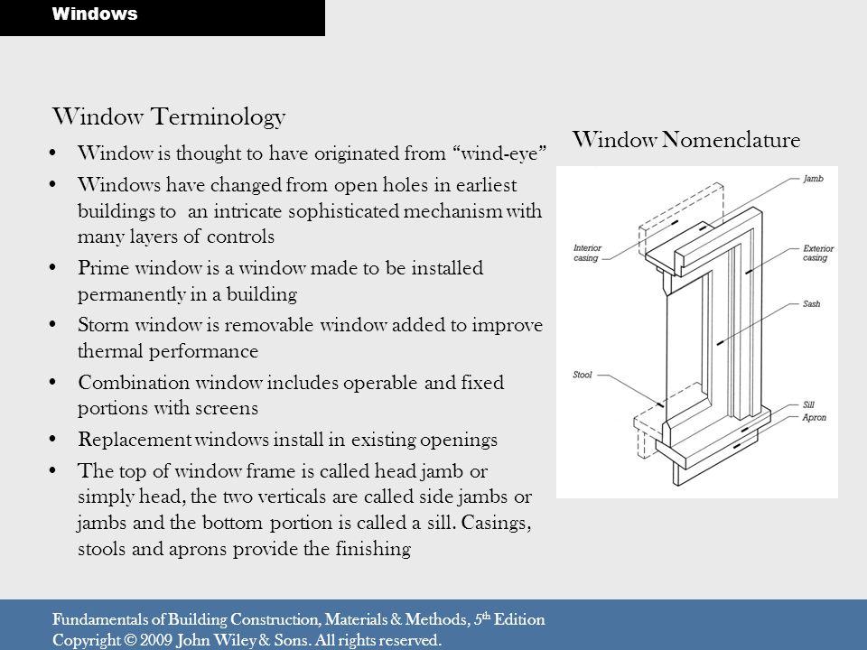 Windows 18 Windows and Doors - ppt video online download