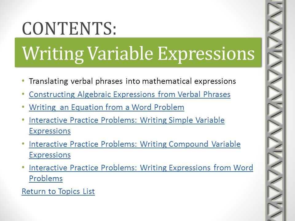 Polynomials, Expressions, and Formulas - ppt download