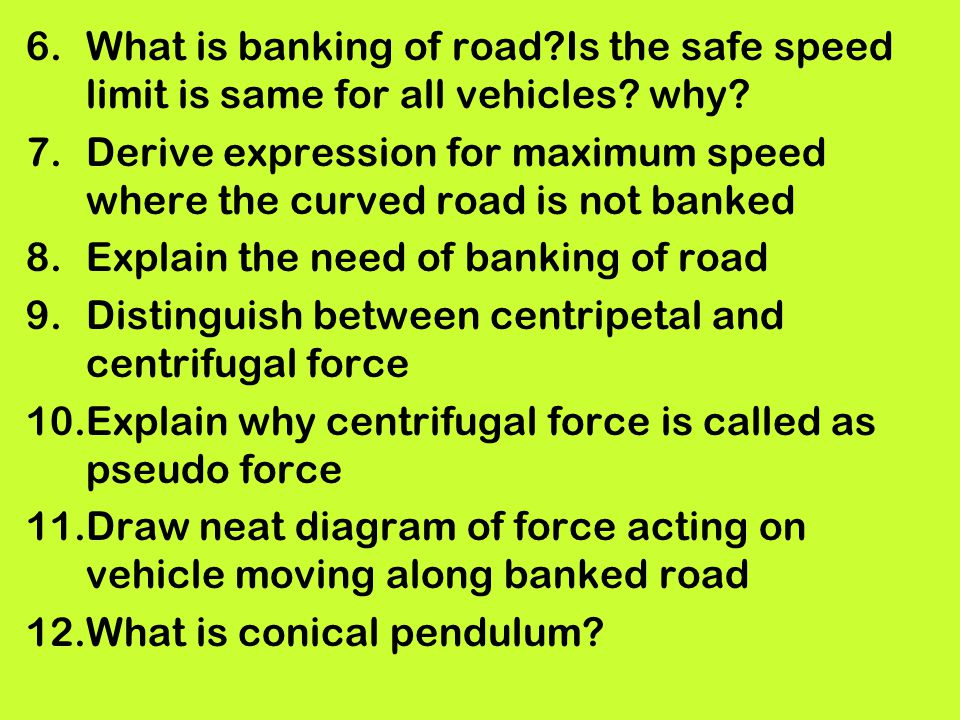 Note these General and essential Points ppt download