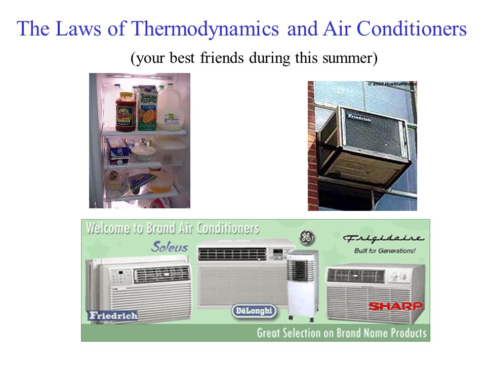 The Laws of Thermodynamics and Air Conditioners