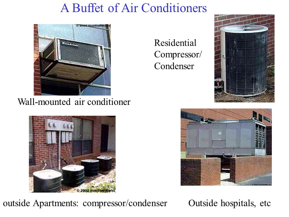 A Buffet of Air Conditioners