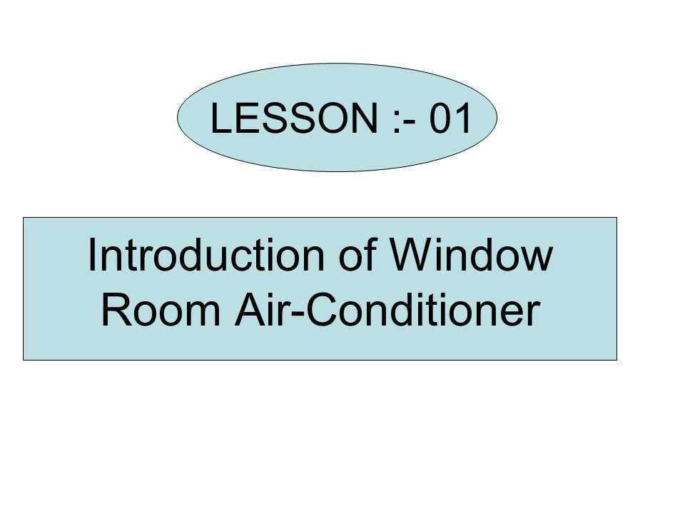 Introduction of Window Room Air-Conditioner